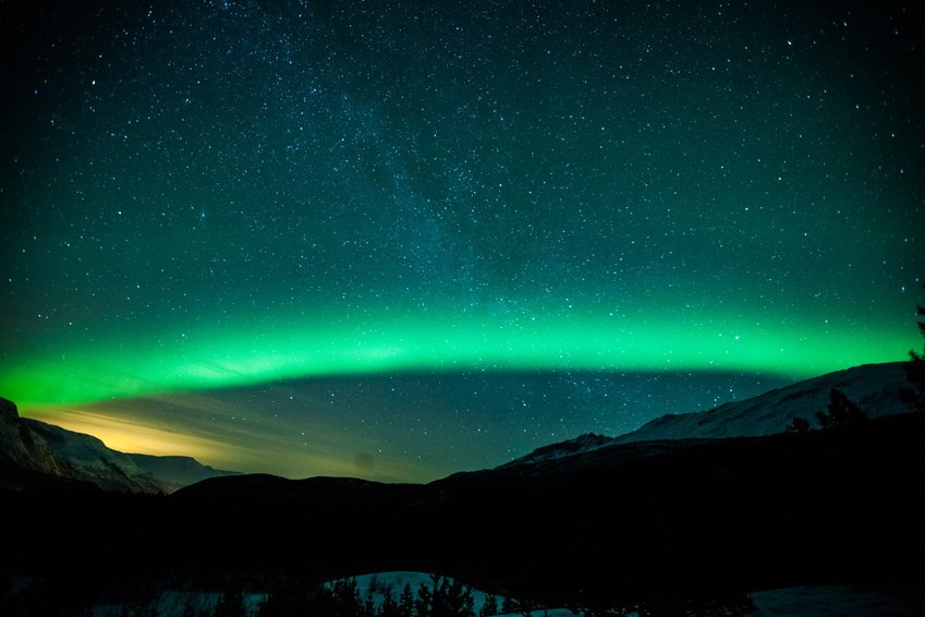 Aurora-Borealis in Norwegen